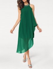 Chiffon φόρεμα ASHLEY BROOKE. (Π) : Heine